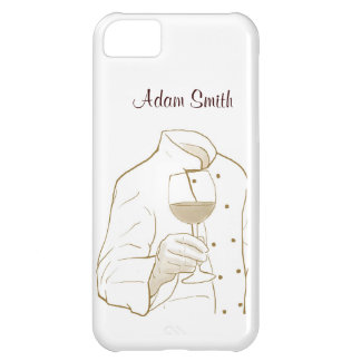 Chef Suit and Wine iPhone 5C Case