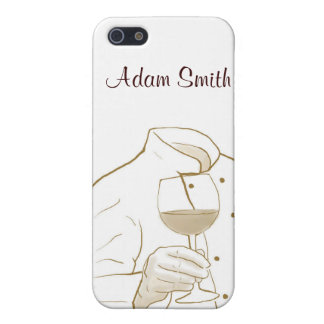 Chef Suit and Wine iPhone SE/5/5s Case