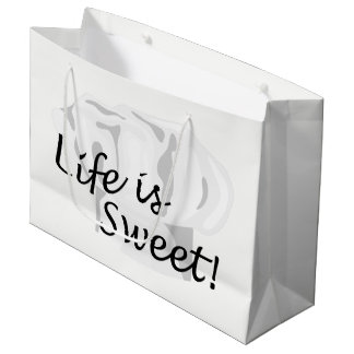 Chef Sweet Pastry Baker LGB Large Gift Bag