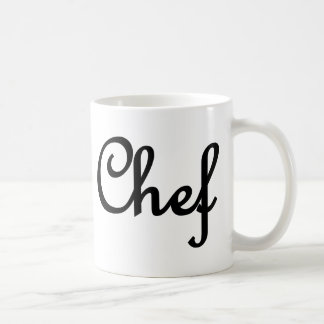 chef text deluxe coffee mug
