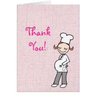 Chef Thank You Card