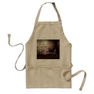 Chef - The morning chores Adult Apron