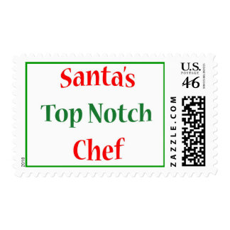 Chef Top Notch Postage Stamp