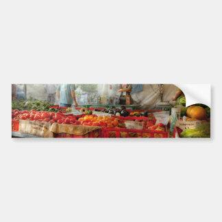 Chef - Vegetable - Jersey Fresh Farmers Market Bumper Sticker