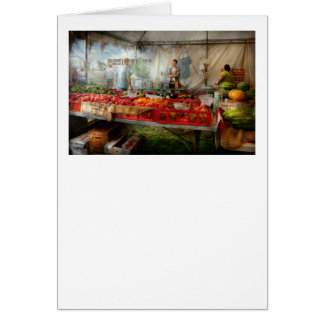 Chef - Vegetable - Jersey Fresh Farmers Market Card