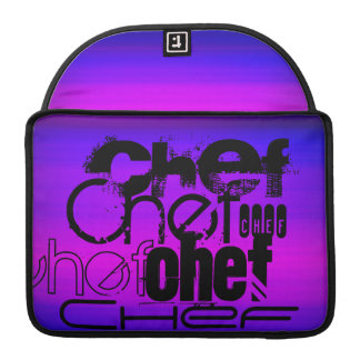 Chef; Vibrant Violet Blue and Magenta Sleeves For MacBook Pro