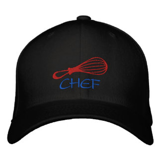 Chef Whisk Hat-Colors Can Be Changed Embroidered Baseball Cap