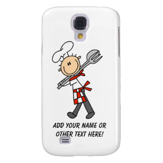 Chef With Salad Tongs Galaxy S4 Case