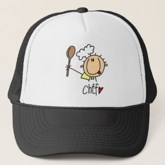Chef With  Spoon Tshirts and Gifts Trucker Hat