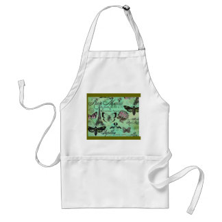 Chef's Apron French Country Kitchen Apron