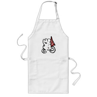 chefs apron with symiegirl face