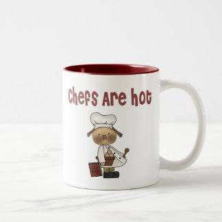 Chefs are hot Two-Tone coffee mug