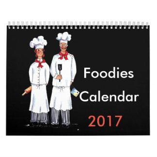 Chefs calendar