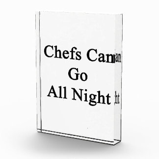 Chefs Can Go All Night Awards