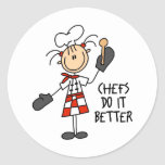 Chefs Do It Better Stickers