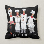 Chefs- Foodies pillow