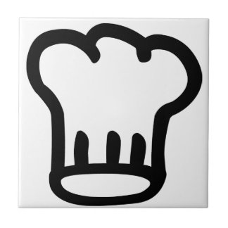 Chef's Hat Ceramic Tile