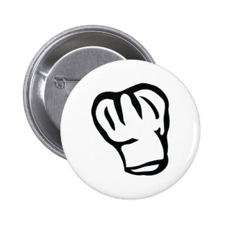 chefs head chef cook head buttons