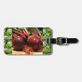 Chefs healthy food cuisine Beetroot Juices Salads Bag Tag
