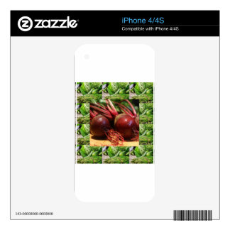 Chefs healthy food cuisine Beetroot Juices Salads Decal For The iPhone 4S
