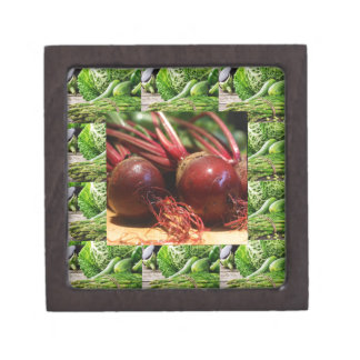 Chefs healthy food cuisine Beetroot Juices Salads Jewelry Box