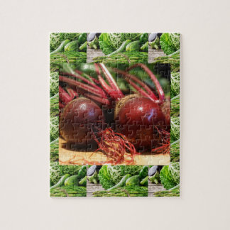 Chefs healthy food cuisine Beetroot Juices Salads Jigsaw Puzzle