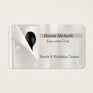 Chef's Jacket Business Card