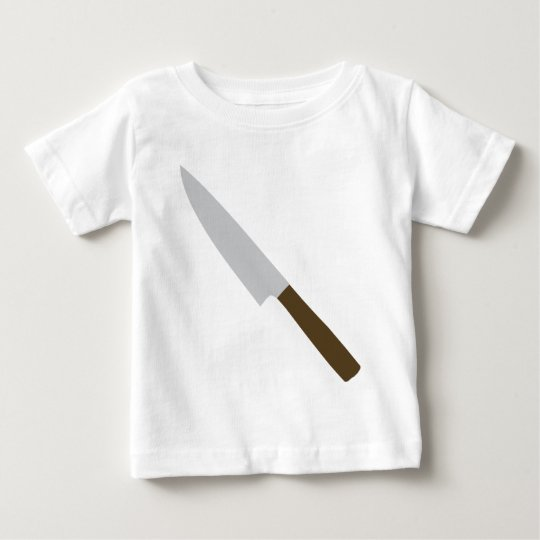 chefs kitchen knife icon baby T-Shirt