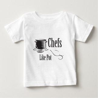 Chefs Like Pot Baby T-Shirt