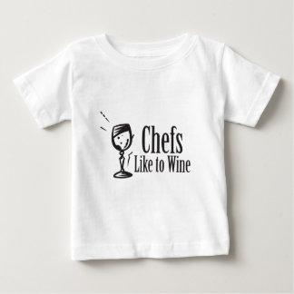 Chefs Like to Wine Baby T-Shirt