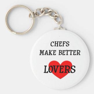 Chefs Make Better Lovers Keychain