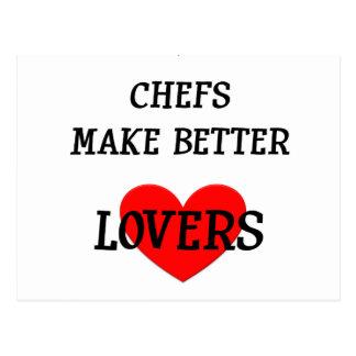 Chefs Make Better Lovers Postcard