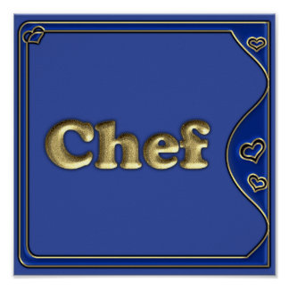 Chefs Poster