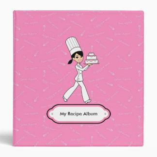 Chef's Recipe Album 1.5 inch Binder Organizer