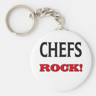 Chefs Rock Keychain