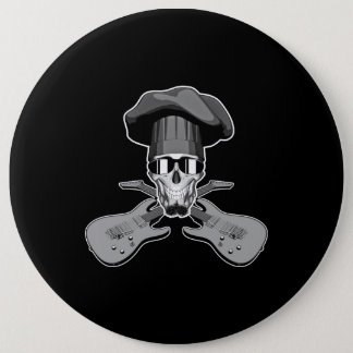 Chefs Rock Pinback Button