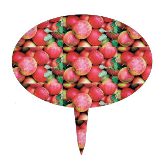 Chefs Salads cuisine fruits apples healthy foods Cake Topper