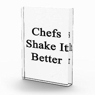 Chefs Shake It Better Acrylic Award
