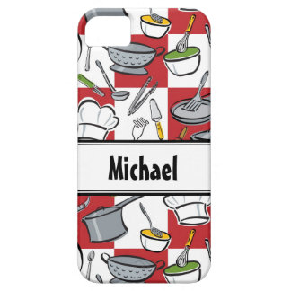Chefs Tools Checkerboard iPhone SE/5/5s Case