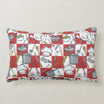 Chefs Tools Checkerboard Pillows