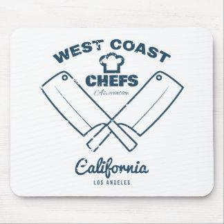 Chefs Vintage T-shirt graphics print Mouse Pad