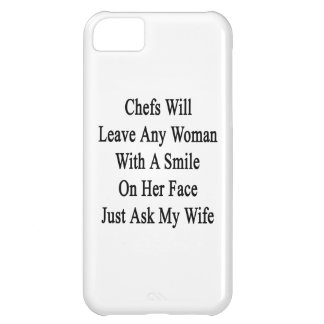 Chefs Will Leave Any Woman With A Smile On Her Fac Cover For iPhone 5C