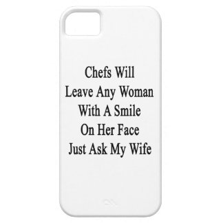 Chefs Will Leave Any Woman With A Smile On Her Fac iPhone 5 Covers