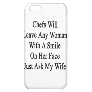 Chefs Will Leave Any Woman With A Smile On Her Fac Case For iPhone 5C
