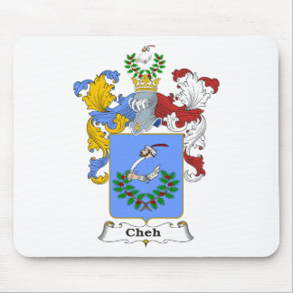 Cheh 1 Family Hungarian Coat of Arms Mouse Pad