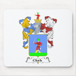 Cheh 3 Family Hungarian Coat of Arms Mouse Pad