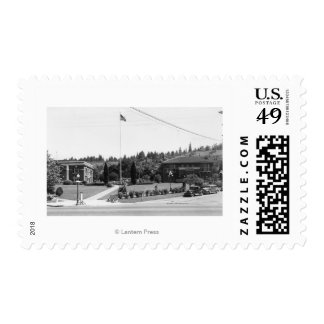 Chehalis, WA Town View and Civic Center Postage