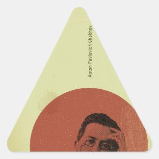 Chekhov Triangle Sticker