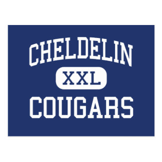 Cheldelin Cougars Middle Corvallis Oregon Postcard