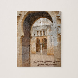 Chellah Ancient Ruins, Morocco Jigsaw Puzzles